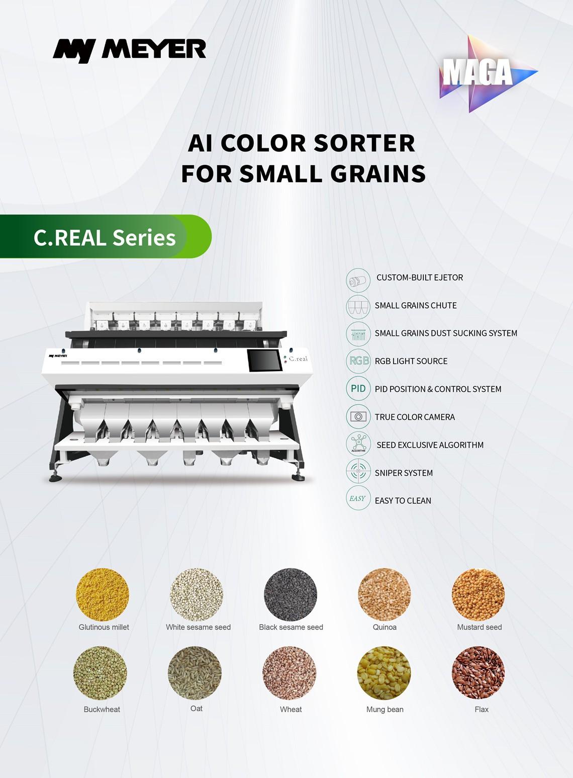 small size grain color sorter